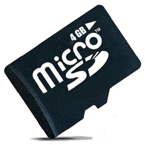 Card micro SD 4GB