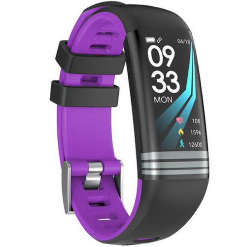 Bratara Fitness iUni G26, Display OLED 0.96 inch, Bluetooth, Pedometru, Notificari, Mov