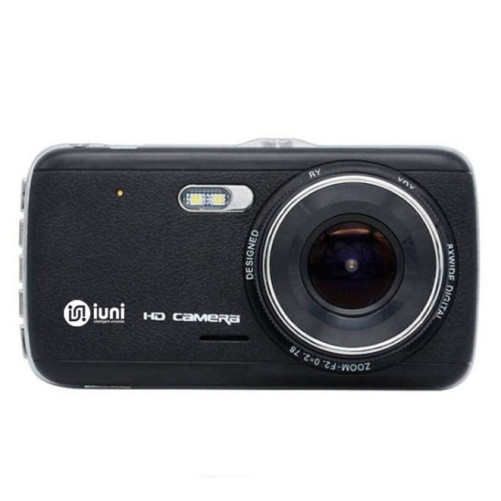 Camera Auto iUni Dash DC04 , Full HD, Senzor G, LCD 4.0 Inch, Detectare miscare, Night vision