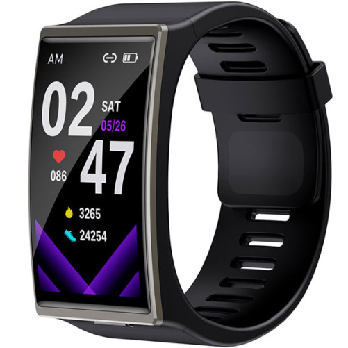 Smartwatch Bratara Fitness iUni DM12, Touchscreen, Monitorizare Puls, Notificari