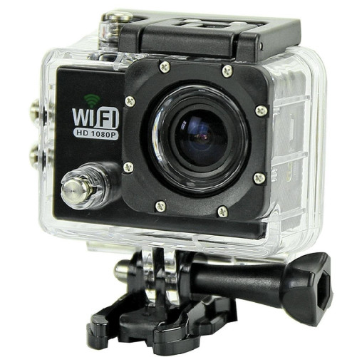 Camera Video Sport iUni Dare 65i Wi-Fi, Negru