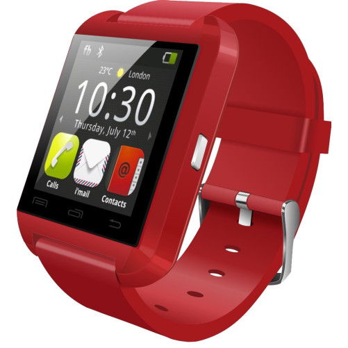 Smartwatch iUni U8+, Red