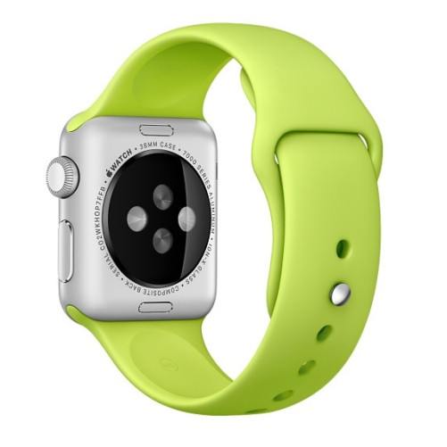 Curea pentru Apple Watch 42 mm Silicon iUni Verde