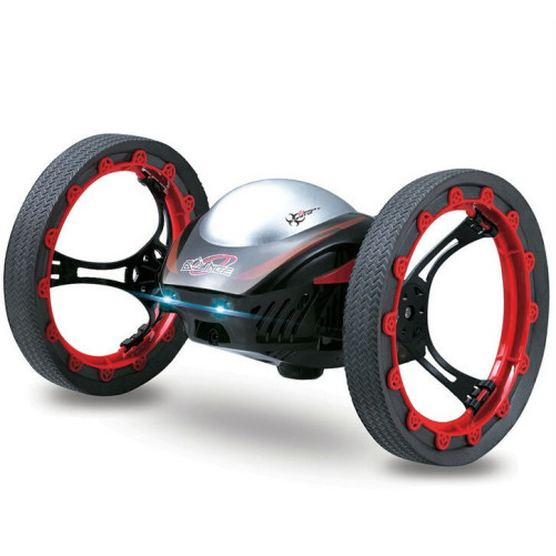 Drona iUni Bounce Car 222, Jumping Sumo, 4 Canale, 2.4 Ghz, Rosu