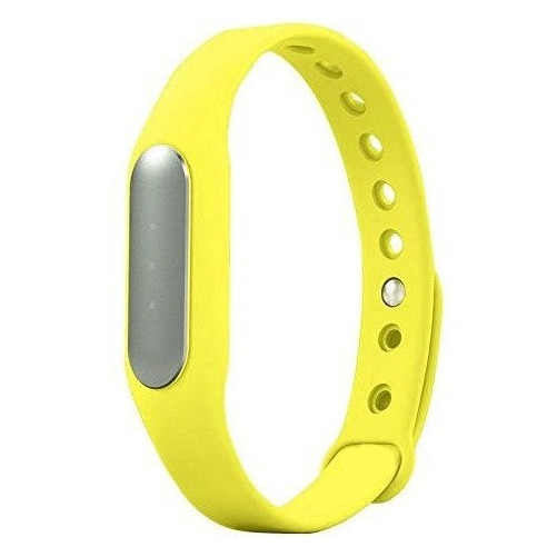 Bratara fitness iUni MI1, Bluetooth, Activity and Sleep, Galben