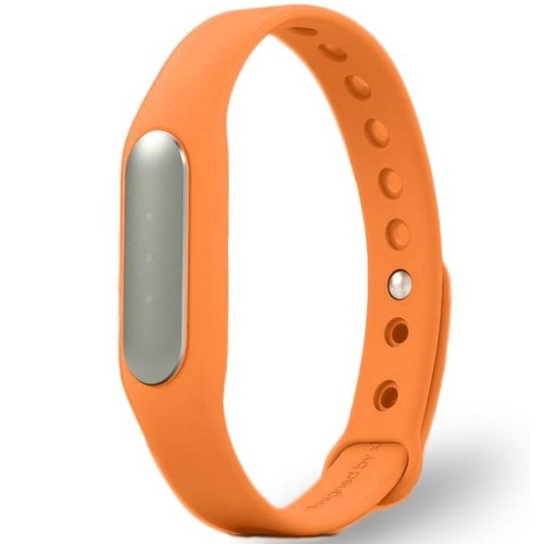 Bratara fitness iUni MI1, Bluetooth, Activity and Sleep, Portocaliu