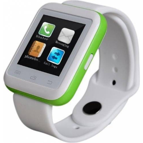Smartwatch iUni U900i Plus, Bluetooth, LCD 1.44 Inch, Verde