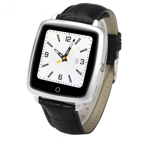 Ceas Smartwatch cu Telefon iUni U11C Plus, Bluetooth, Camera, 1.54 inch, Silver