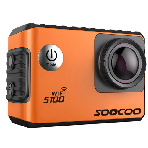 Camera Video Sport 4K iUni Dare S100 Orange, WiFi, GPS, mini HDMI, 2 inch LCD, by Soocoo