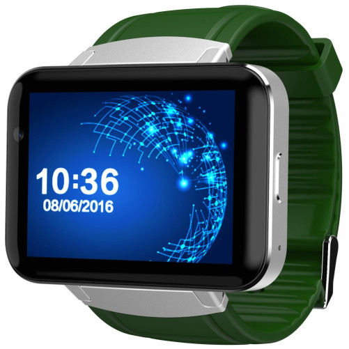 Smartwatch Telefon cu Android iUni DM98, WIFI, 3G, Camera 2 MP, BT, 2,2 Inch, Green