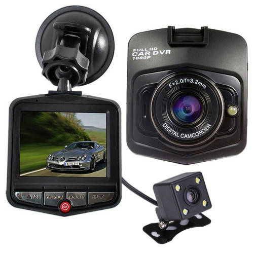 Camera auto Dubla iUni Dash 806, Full HD, 12Mpx, 2.5 Inch, 170 grade, Parking monitor, G senzor, Senzor de miscare