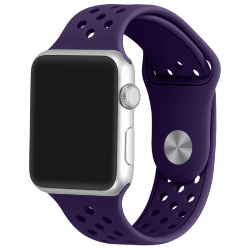 Curea pentru Apple Watch 38 mm Silicon Sport iUni Mov