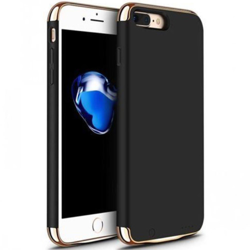 Husa cu Acumulator Ultraslim iPhone 6 Plus/6s Plus, iUni Joyroom Power Case 3500mAh, Negru