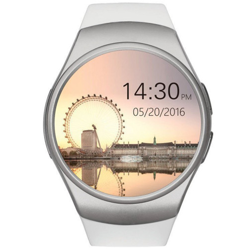Ceas Smartwatch cu Telefon iUni KW18, Touchscreen, iOS si Android