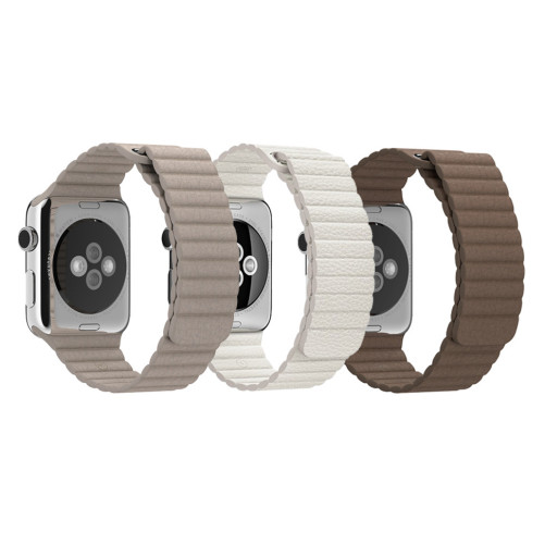 Curele piele pentru Apple Watch 42 mm iUni Leather Loop