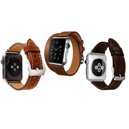 Set 2+1 Gratis, Curele Apple Watch iUni 38 mm Piele