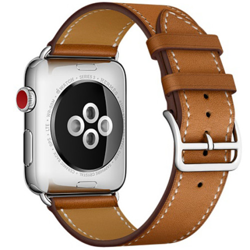 Curea pentru Apple Watch 38 mm iUni Single Tour Maro
