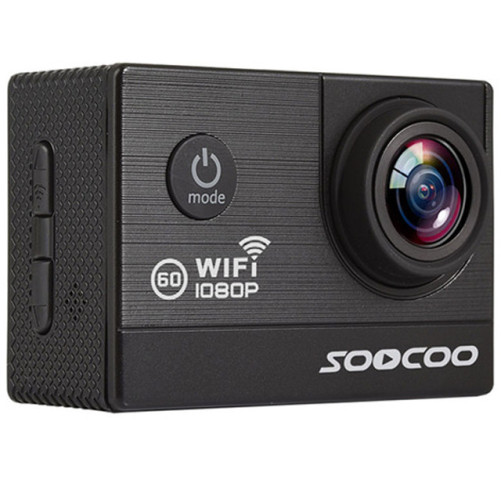 Camera Video Sport iUni Dare C20 Black, WiFi, GPS, mini HDMI, 2 inch LCD, 1080P Full HD, Unghi filmare 170 grade by Soocoo