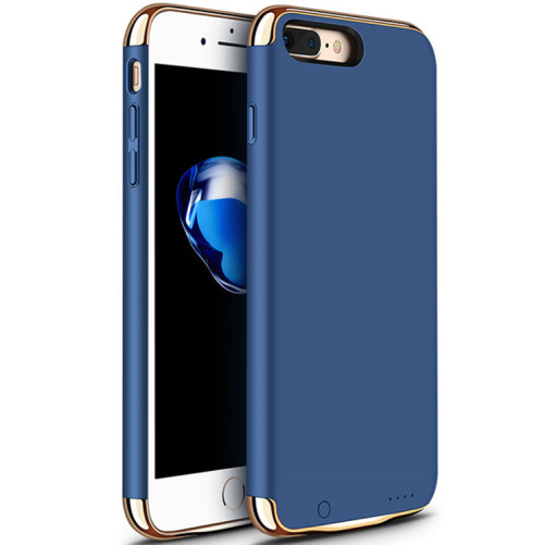 Husa Baterie Ultraslim iPhone 7, iUni Joyroom 2500mAh, Blue