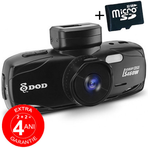 Camera auto DOD LS460W, Full HD, GPS, WDR, senzor Sony