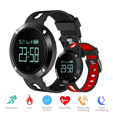 Bratara Fitness iUni DM58 Plus, Display OLED, Ceas, Pedometru, Monitorizare puls, Notificari-3