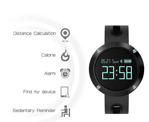 bratara fitness DM58 Plus smartwatch-2