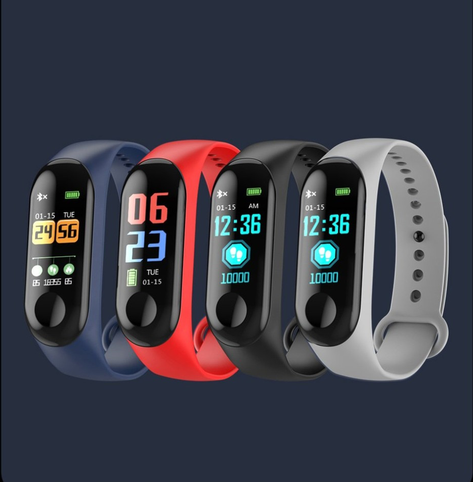 Bratara Fitness iUni N3C, Display OLED