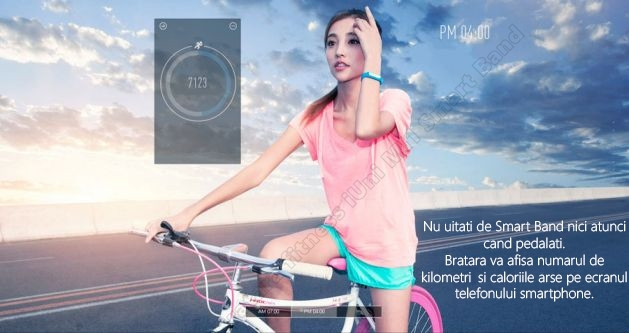MI1 smart band slim bratara fitness iUni-2