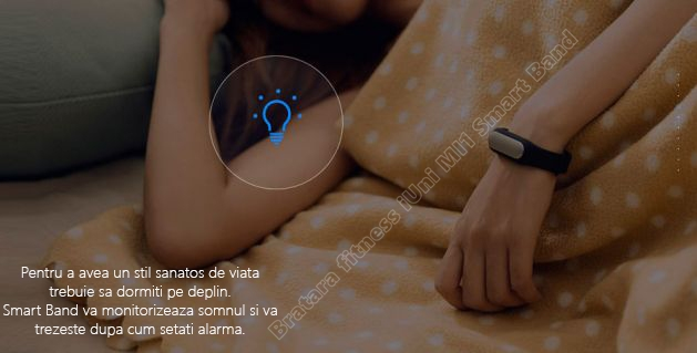 MI1 smart band slim bratara fitness iUni-5