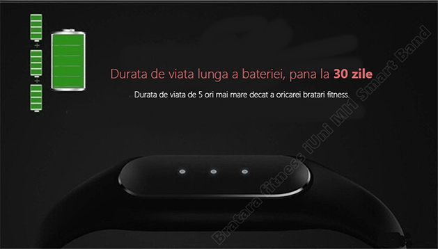 MI1 smart band slim bratara fitness iUni-7