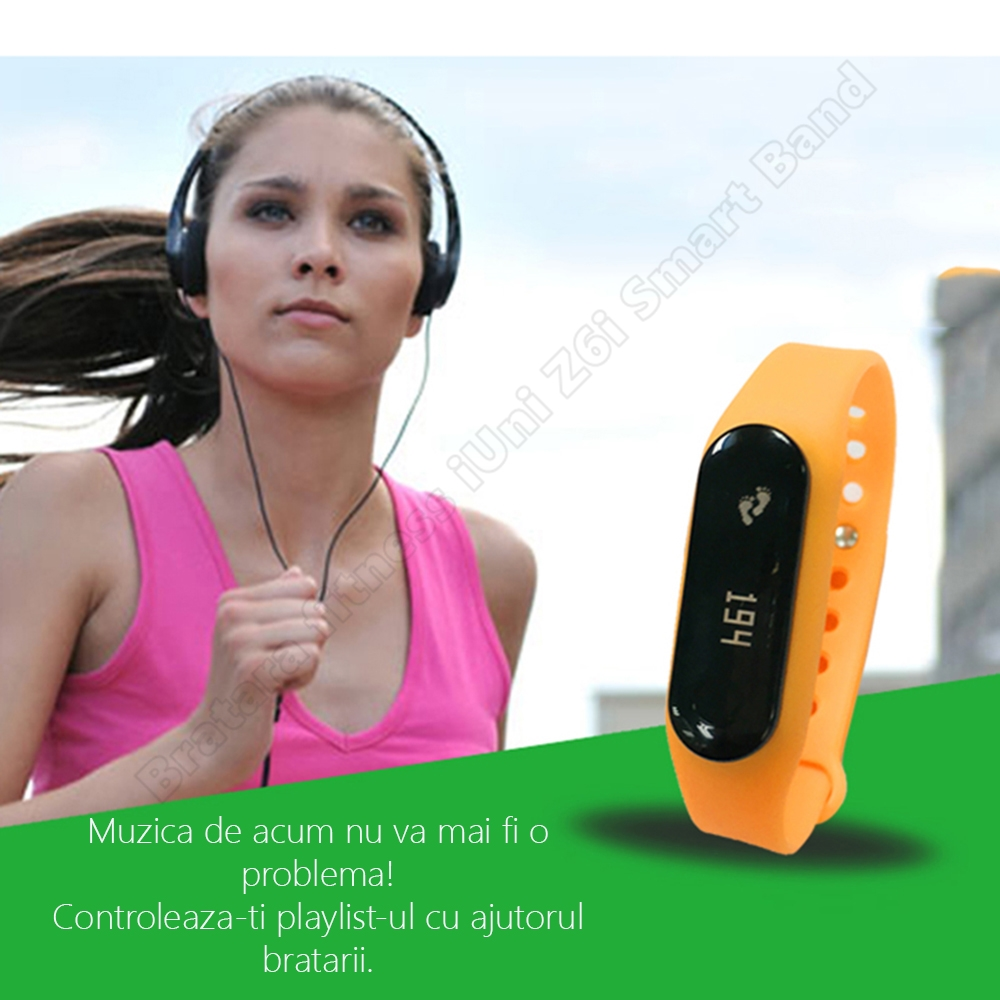Z6i smart band bratara fitness