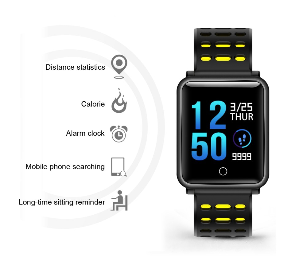 bratara fitness smartwatch iUni M88 Plus
