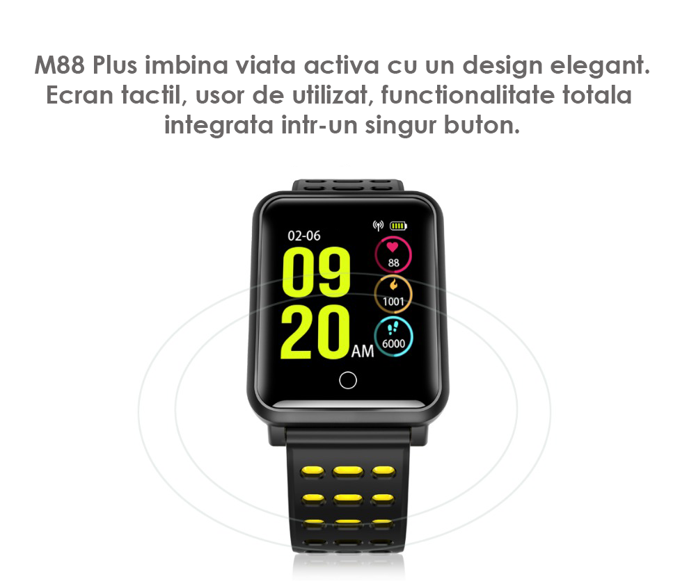 M88 Plus bratara smart inteligenta
