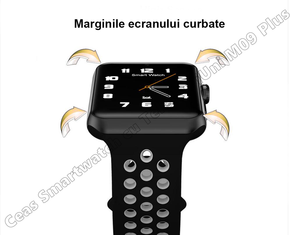 Ceas Smartwatch Telefon iUni DM09 Plus-8