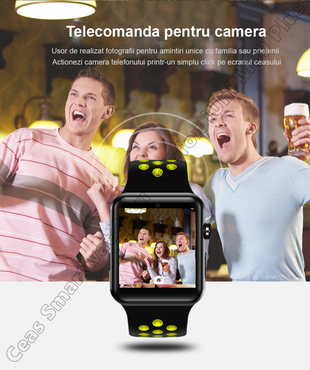 Ceas Smartwatch Telefon iUni DM09 Plus-5