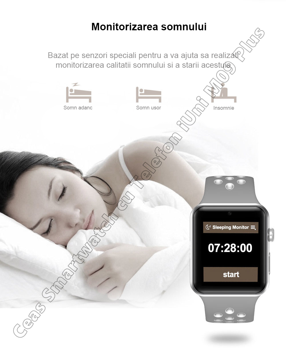 Ceas Smartwatch Telefon iUni DM09 Plus-4