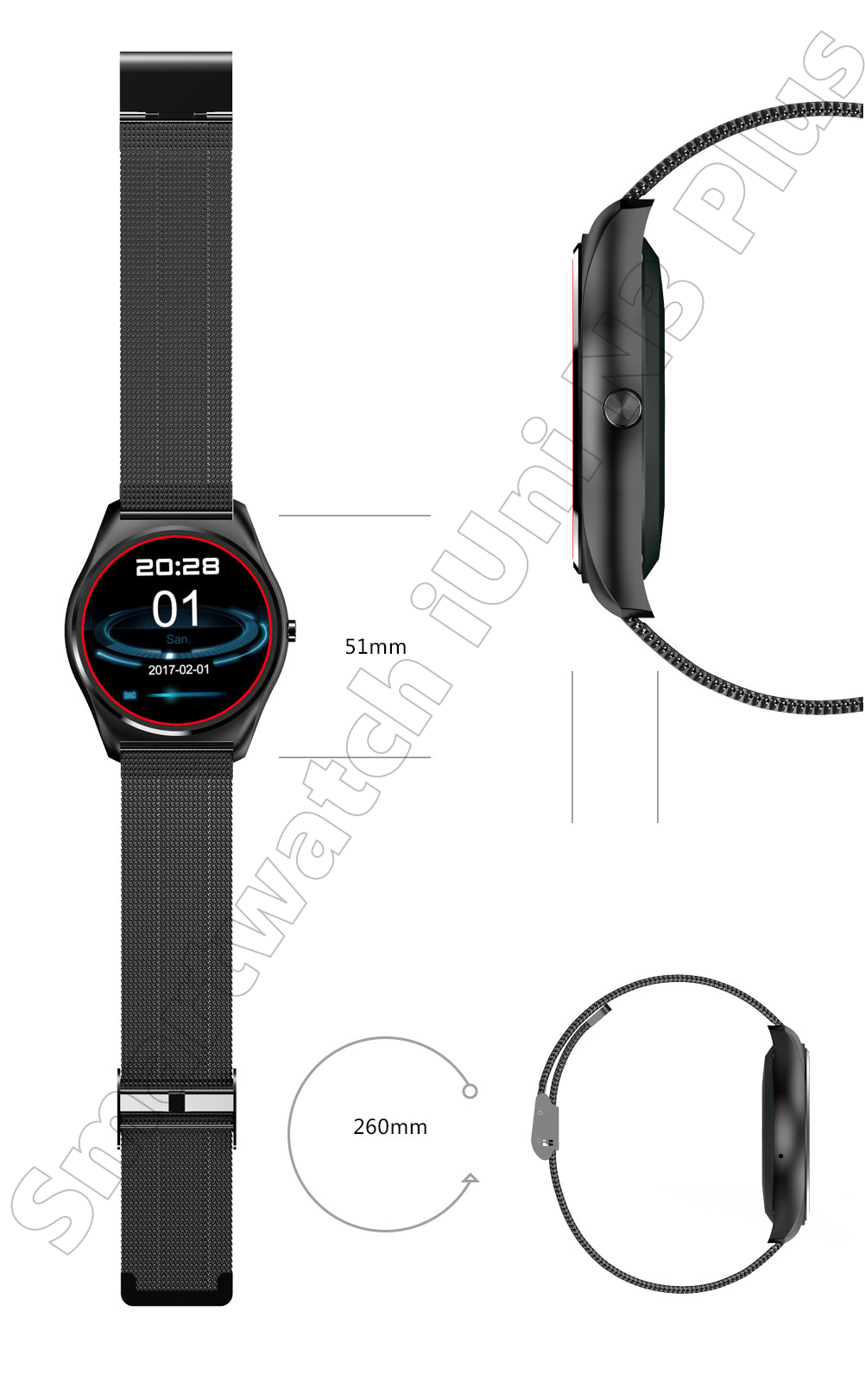 Ceas Smartwatch iUni N3 Plus-35