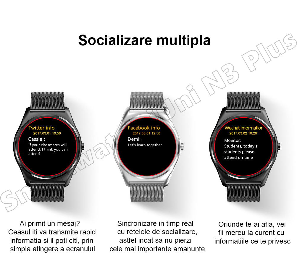 Ceas Smartwatch iUni N3 Plus-27