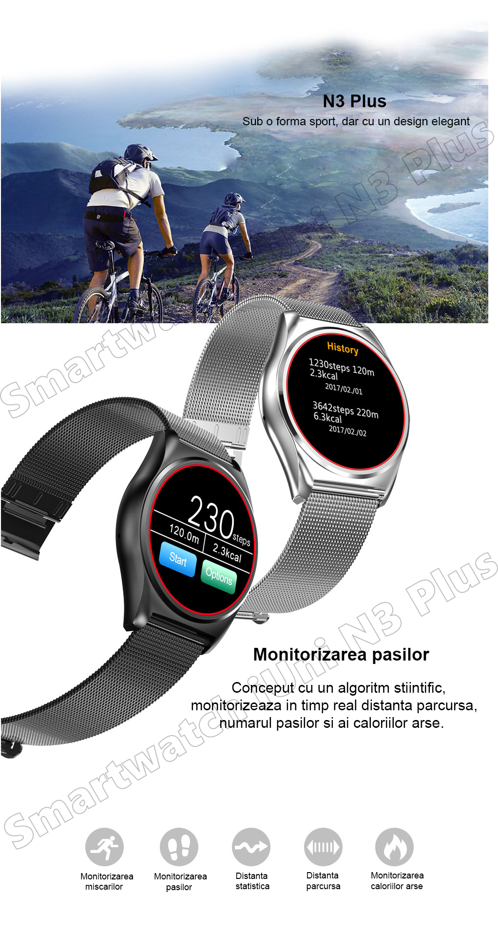 Ceas Smartwatch iUni N3 Plus-26