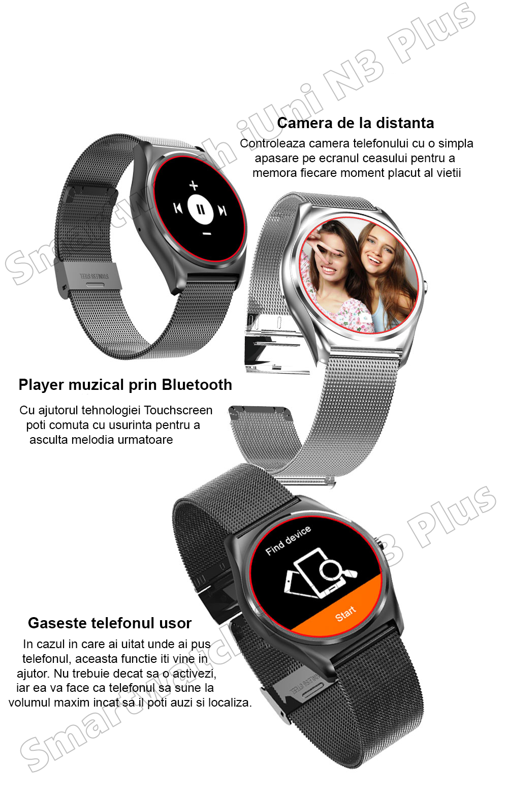 Ceas Smartwatch iUni N3 Plus-25