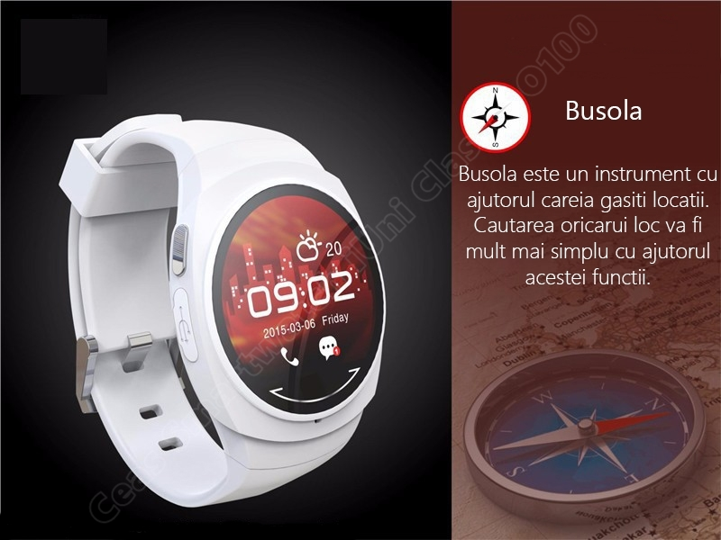 Ceas Smartwatch iUni O100 Bluetooth-5