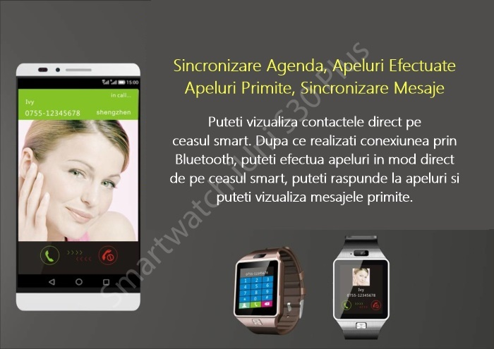 Ceas smartwatch bluetooth S30 Plus-2