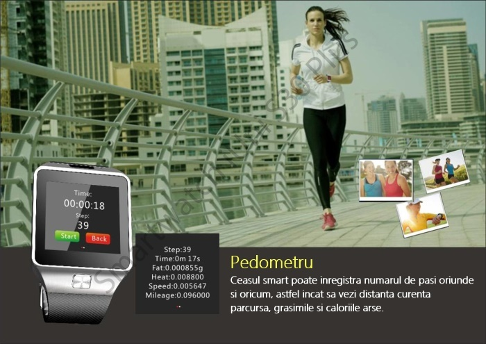 Ceas smartwatch bluetooth S30 Plus-5