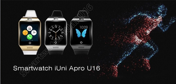 Smartwatch cu telefon iUni Apro U16, Camera, Bluetooth