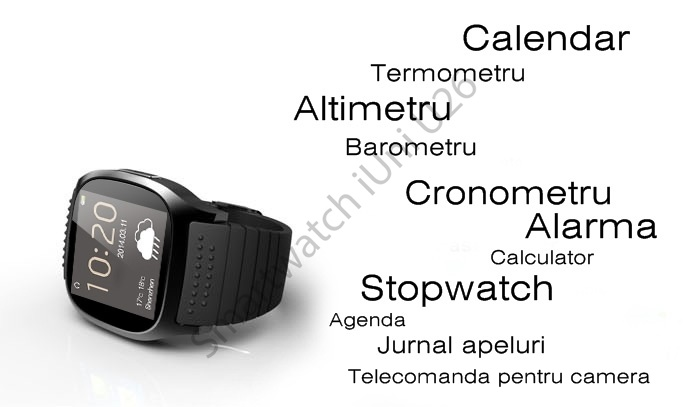 Ceas smartwatch U26 bluetooth