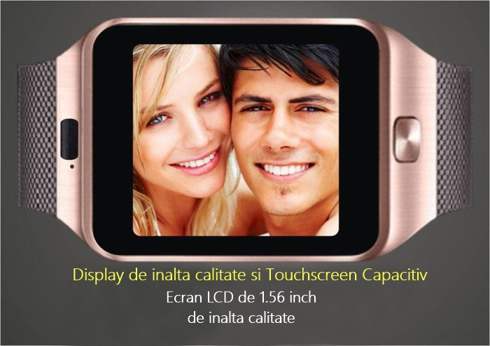 Ceas Smartwatch iUni DZ09 Plus camera