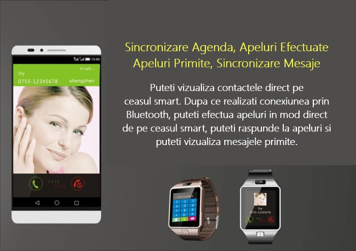 DZ09 Plus SmartWatch Bluetooth-1